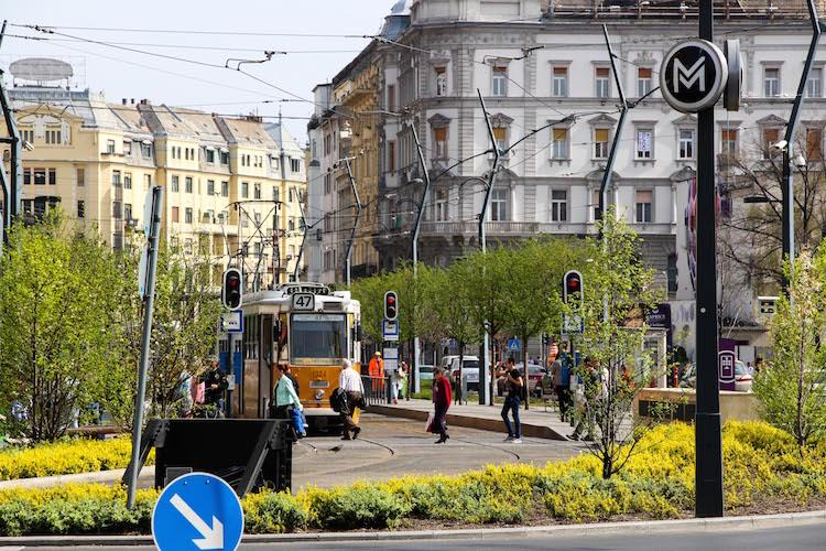 Excursion en tram à Budapest