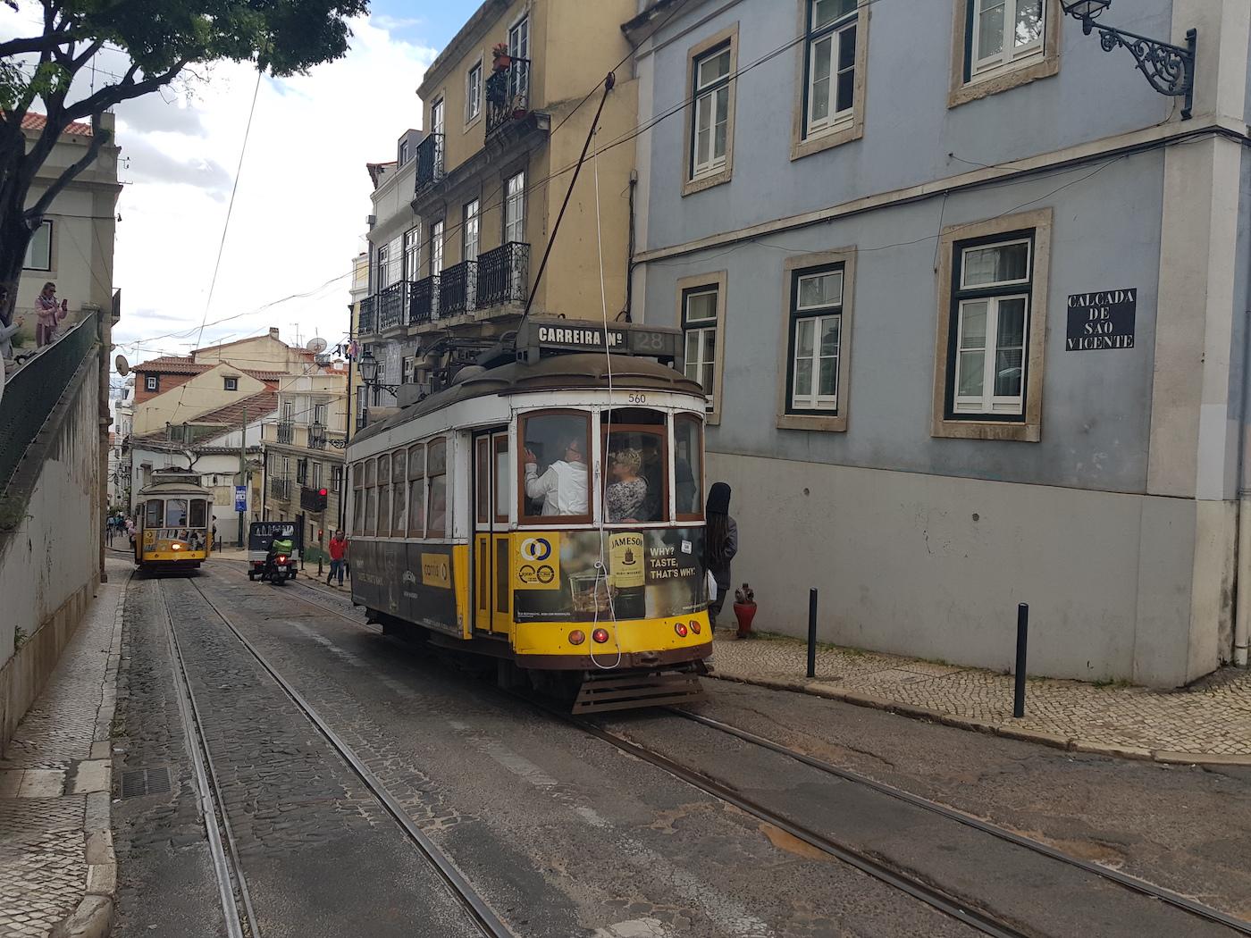 Trams in Lissabon highlights