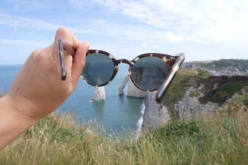 Travel movie Etretat