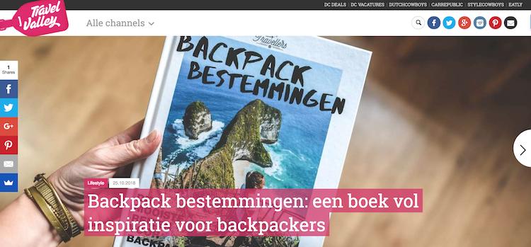 Travelvalley Backpack Bestemmingen review