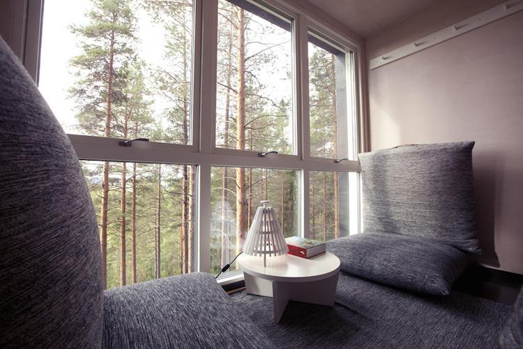 Treehotel zweden the Cabin 1