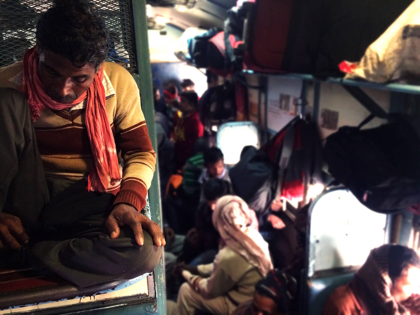 Trein India treinreizen General class