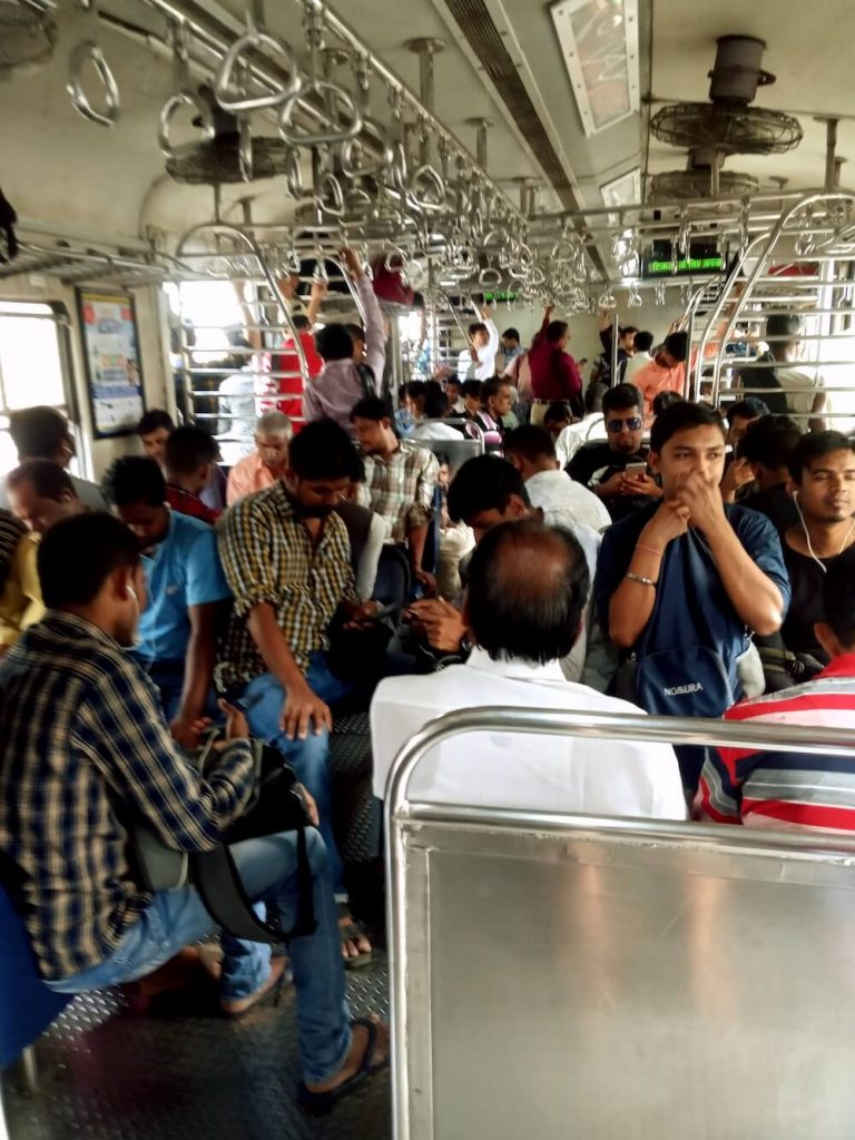 Trein in Mumbai india