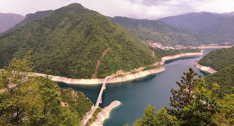 Treinreizen europa montenegro