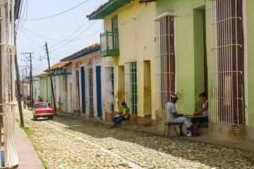 Trinidad Cuba straatjes