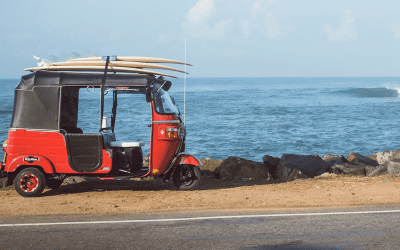 TukTuk Trip in SriLanka