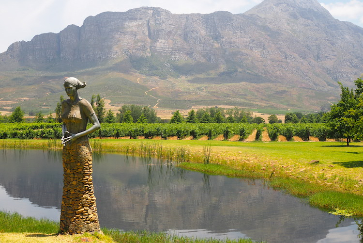 Tulbagh route 62 zuid-afrika