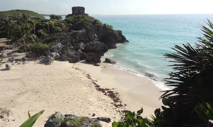 Tulum Mexico mayastad tempel
