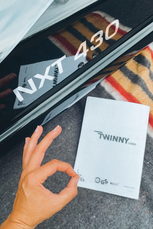 Twinny load camper inrichting dakkoffer