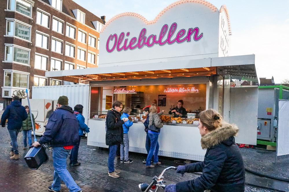 Typisch Nederlands Eten Oliebollen