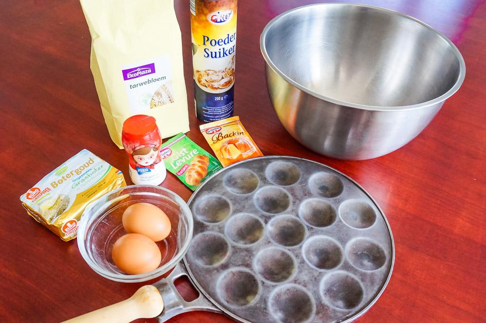 Typisch Nederlands Eten Stroopwafel poffertjes maken