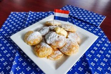 Typisch Nederlands Eten poffertjes