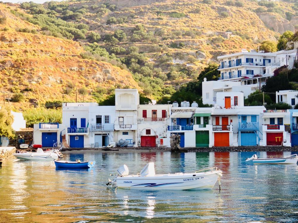 boothuizen op Milos, Cycladen