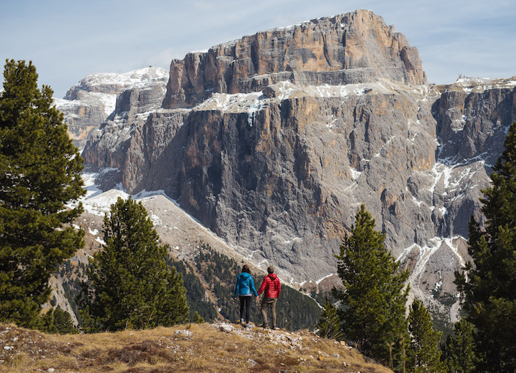 Uitzicht Val Gardena Dolomieten 11