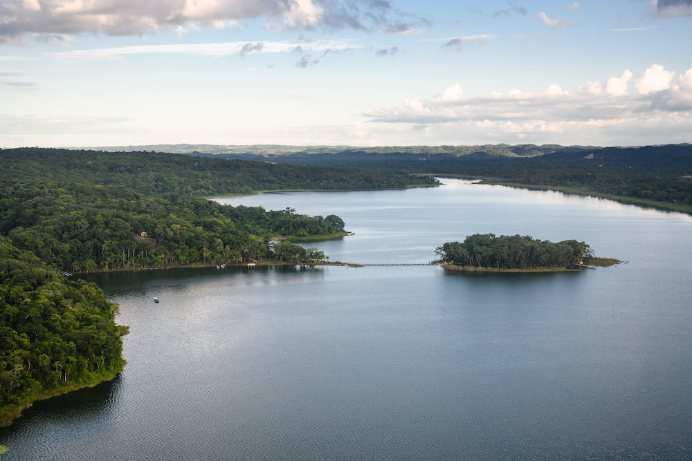 Uitzicht omgeving el mirador guatemala