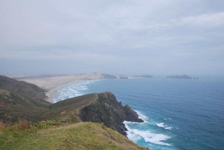 Uitzicht vanaf Cape Reinga