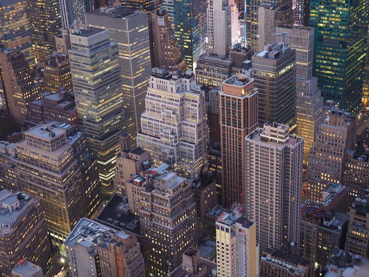 Uitzicht vanaf New York empire state