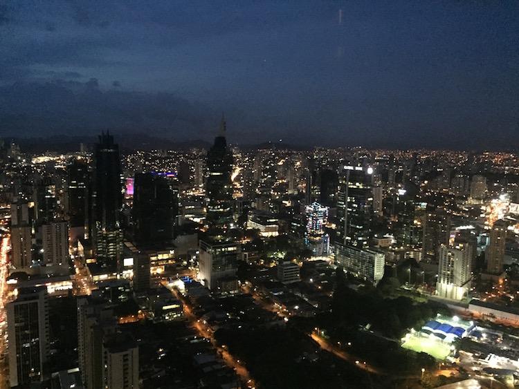 Uitzicht vanaf Hard Rock Panama City