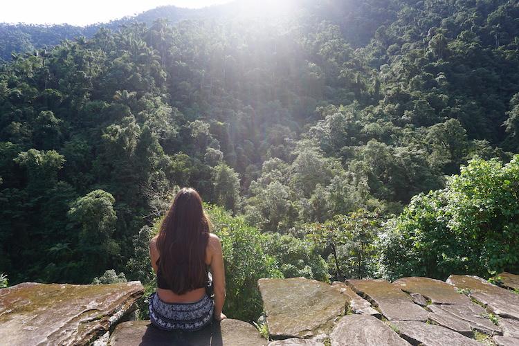 Uitzicht verloren stad colombia