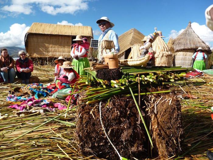 Uros eilanden Titikaka peru