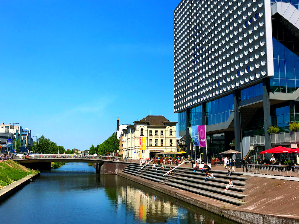 Utrecht centrum Tivoli Vredenburg Singel