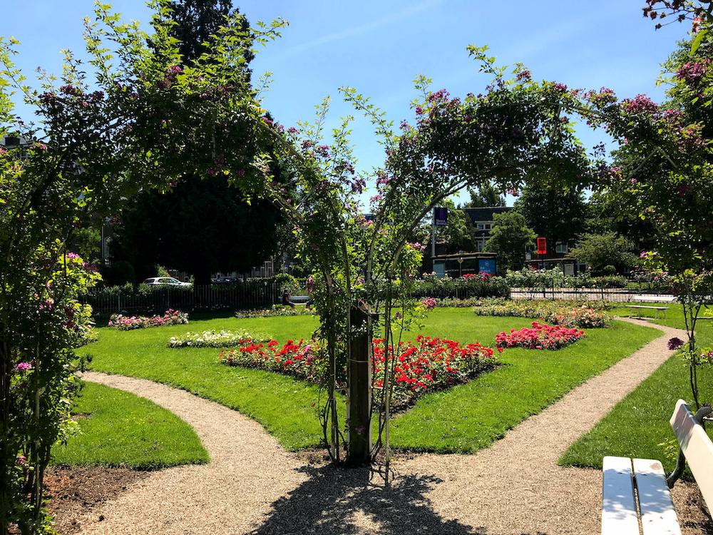 Utrecht parken Rosarium Oudwijk