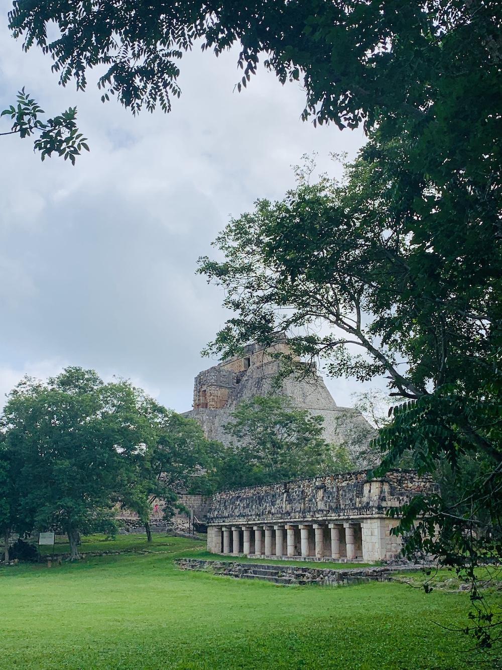 Uxmal maya stad