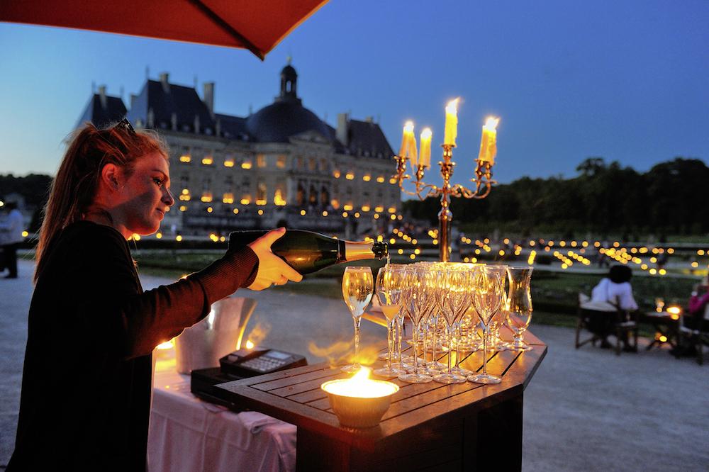 chateau de vaux le vicomte avond parijs