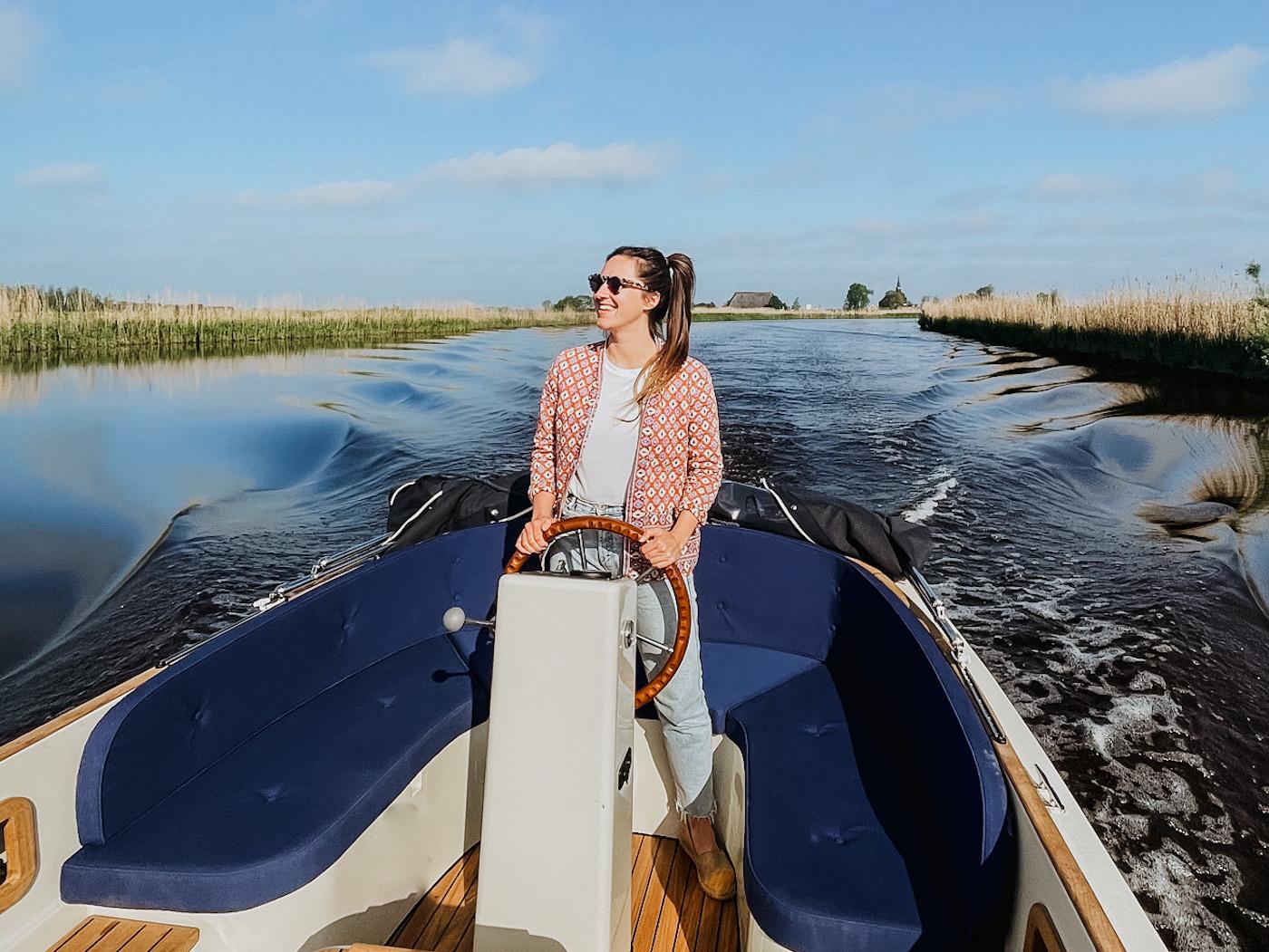 Vaarvakantie Friesland