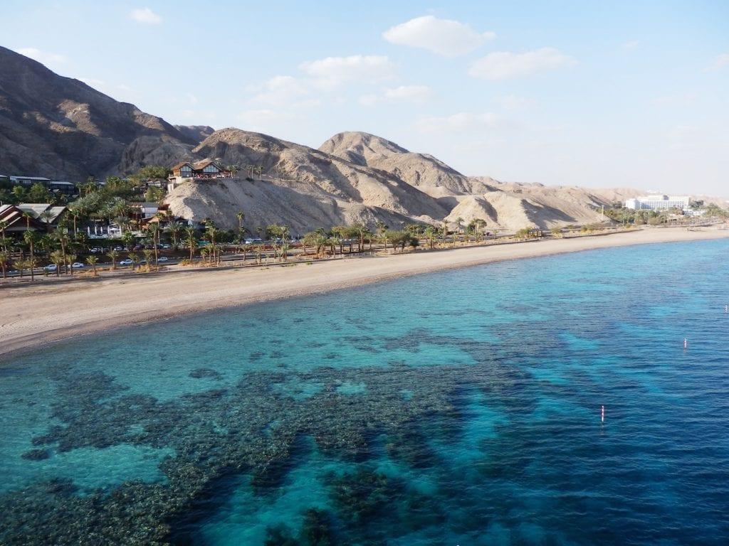 Vakantie eilat coral reef en observatory