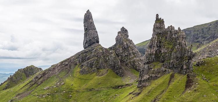 Vakantie Isle of Skye Schotland storr