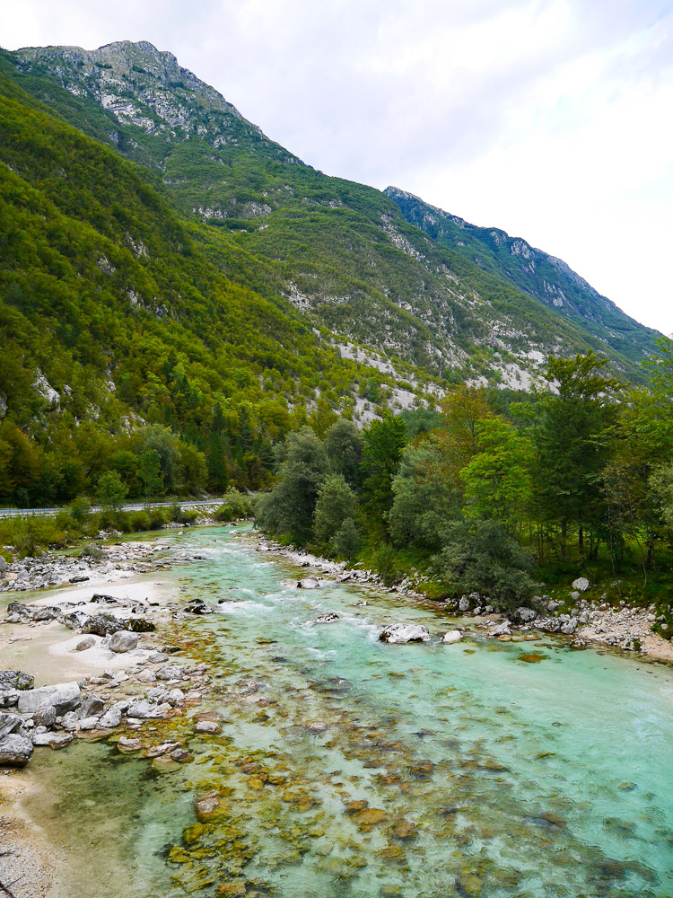 Vakantie Slovenie Soca river