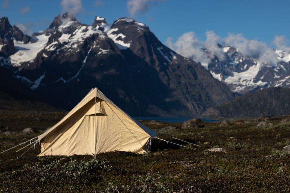 Vakantie groenland kamperen Tasermiut Fjord