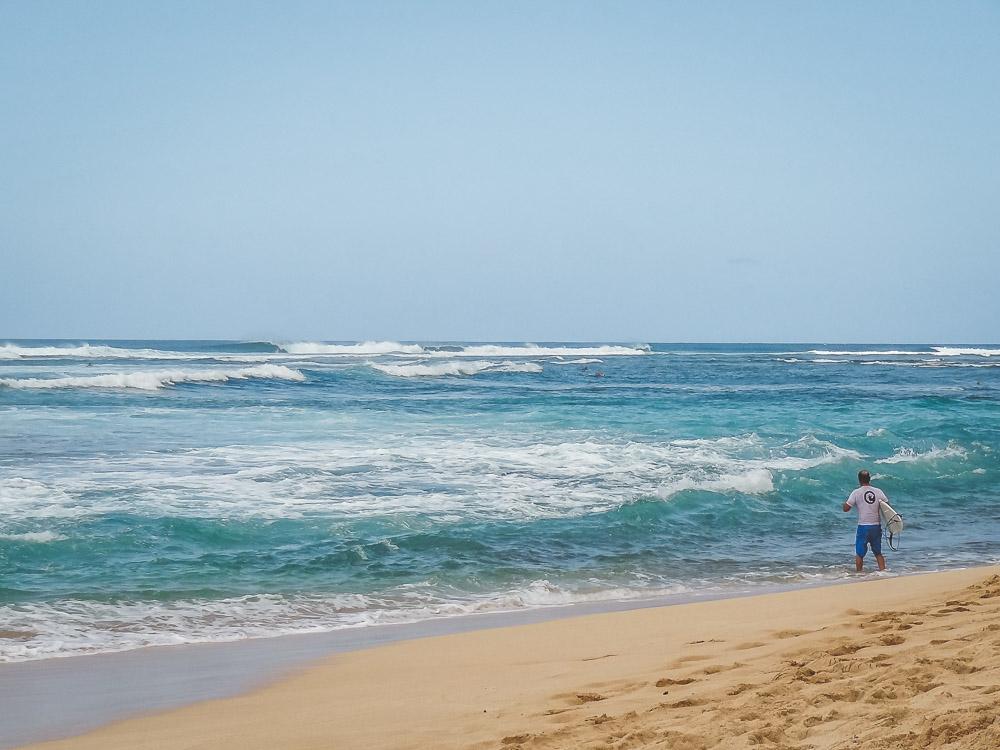 Vakantie hawaii oahu surfen