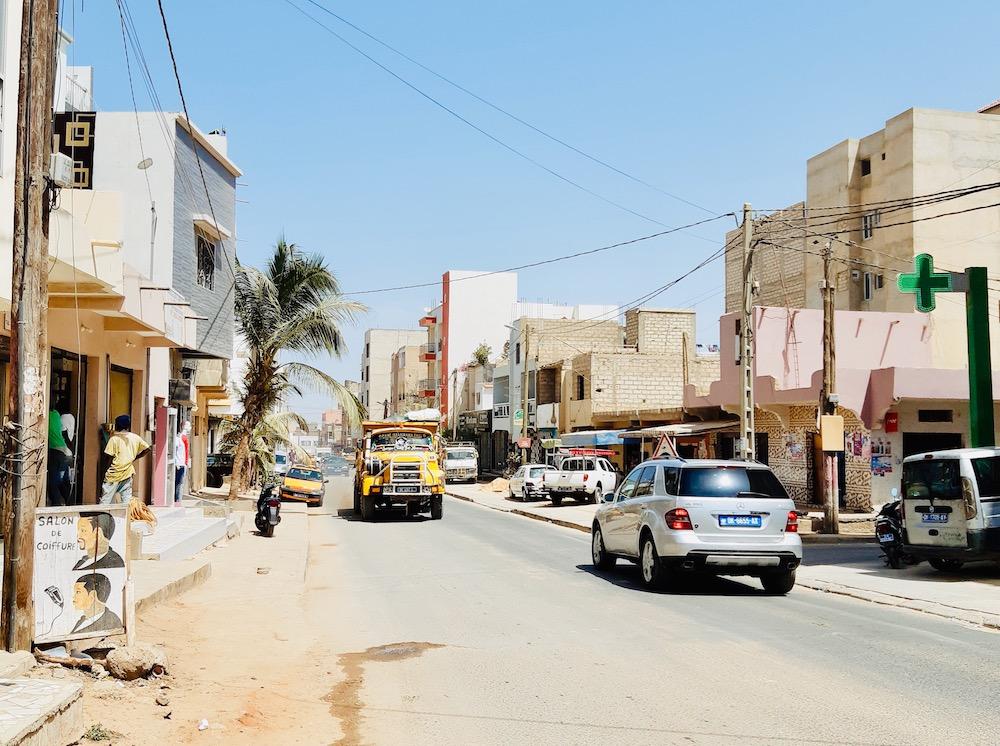 Vakantie senegal Dakar straten