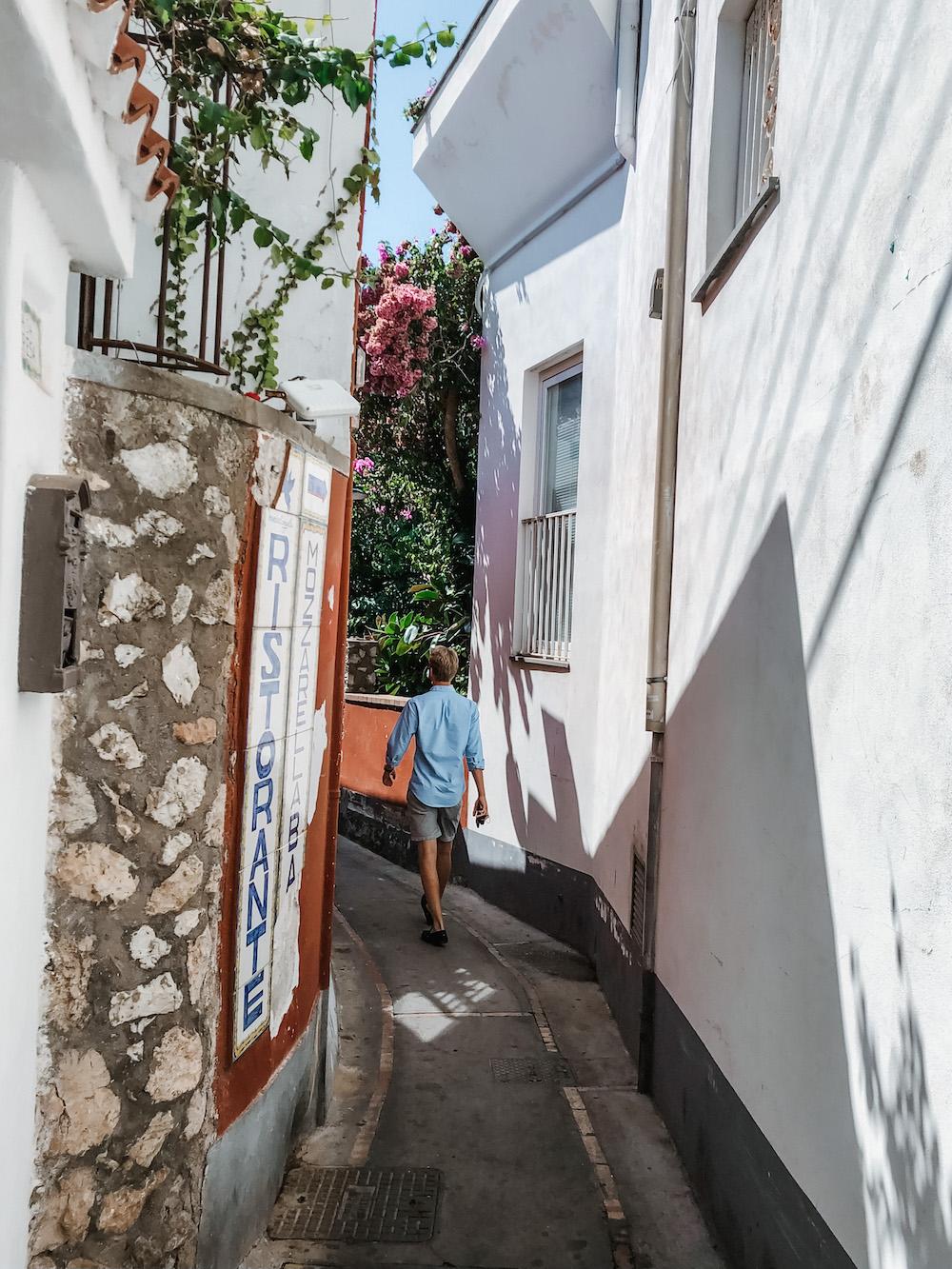 Van Napels naar Capri, wandelen