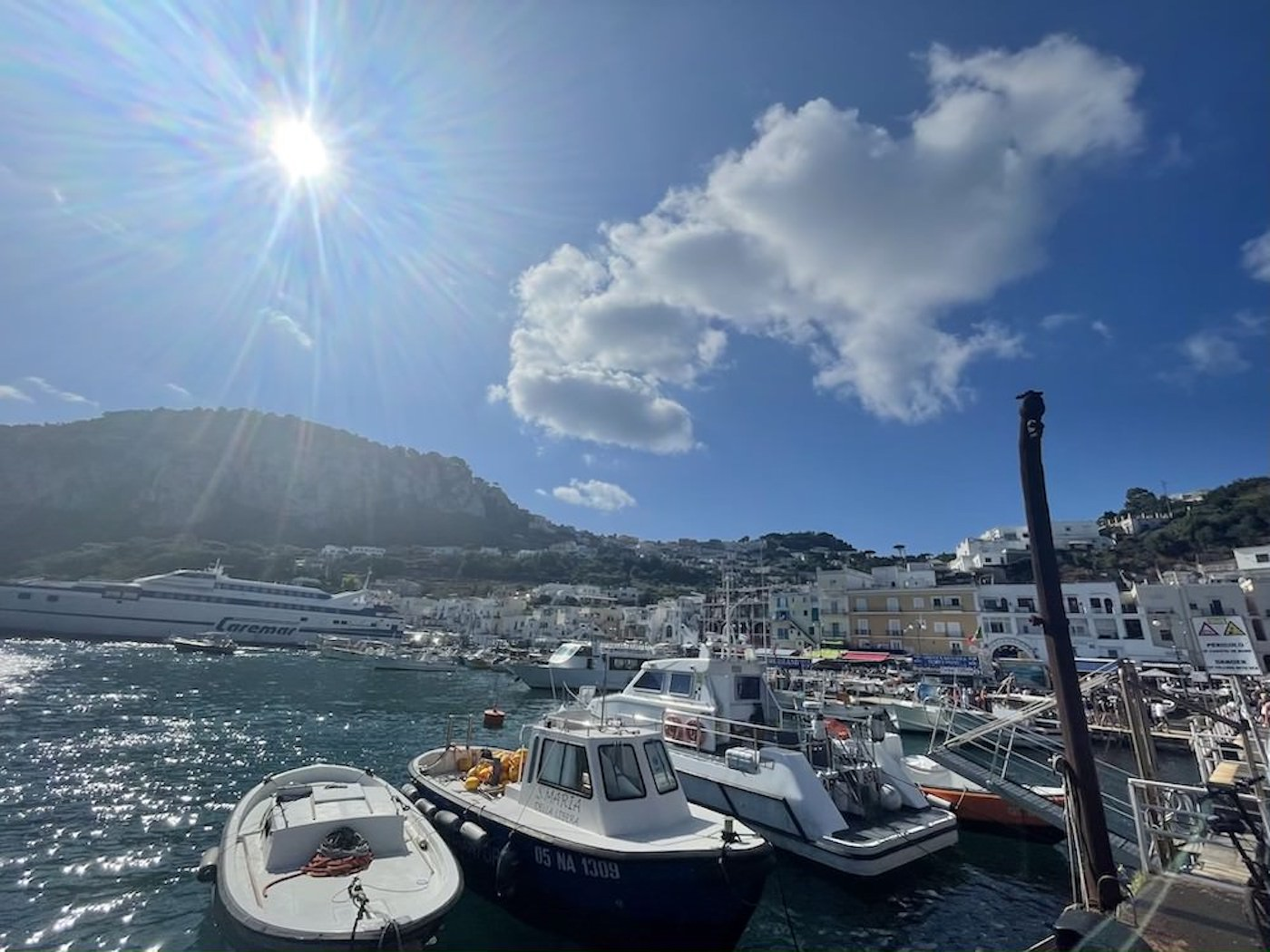 Van Napels naar Capri