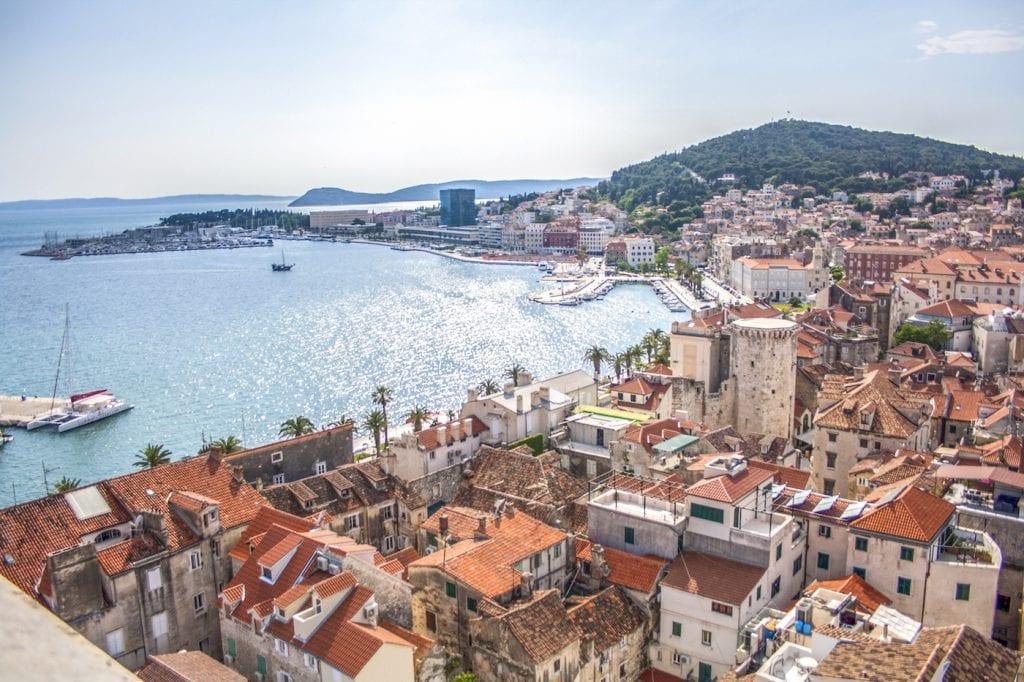 Van Split naar Eiland vis in kroatie