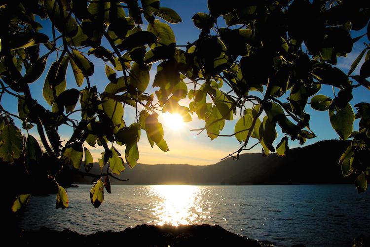 Vancouver Island natuur zonsondergang canada