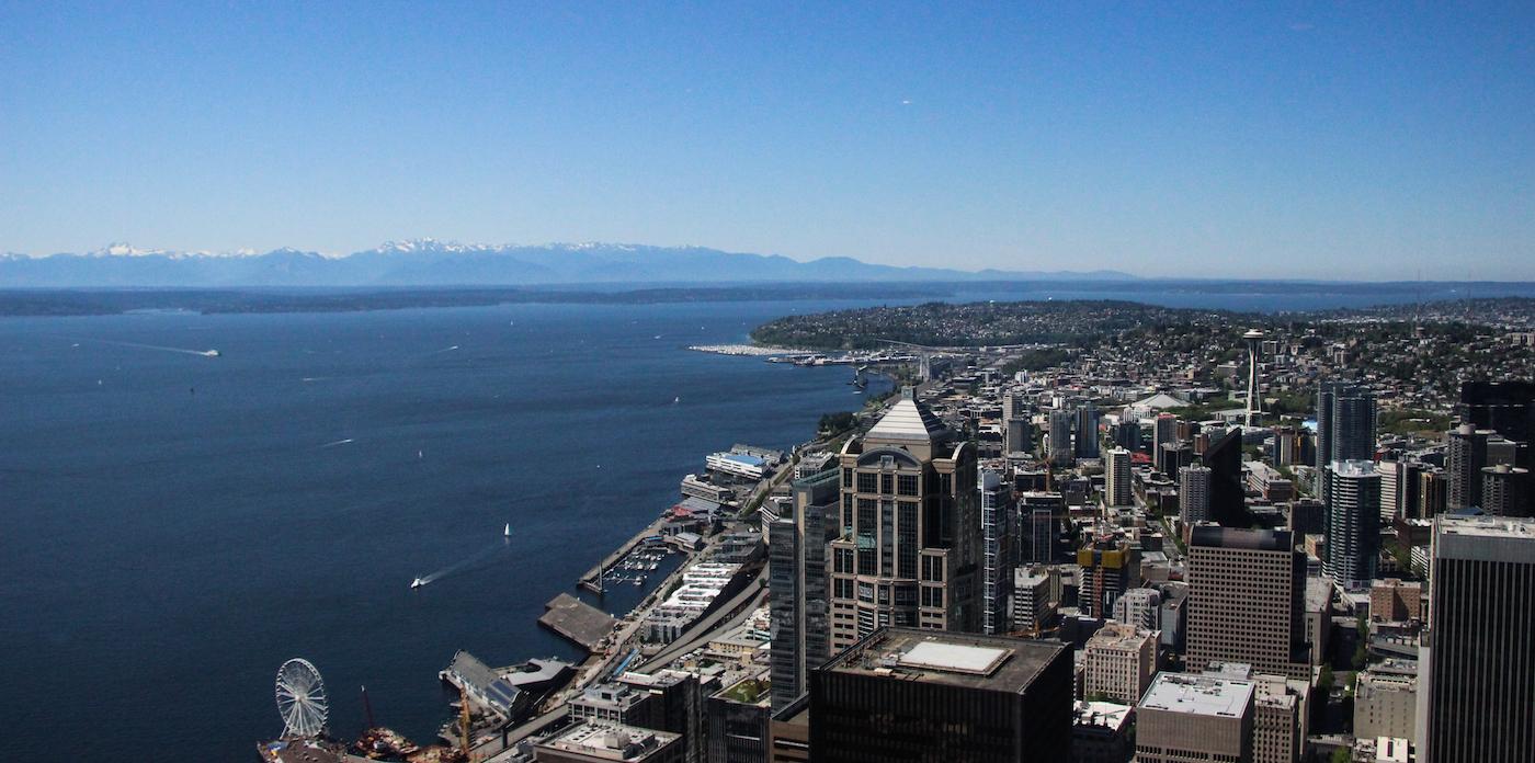 Vancouver naar seattle