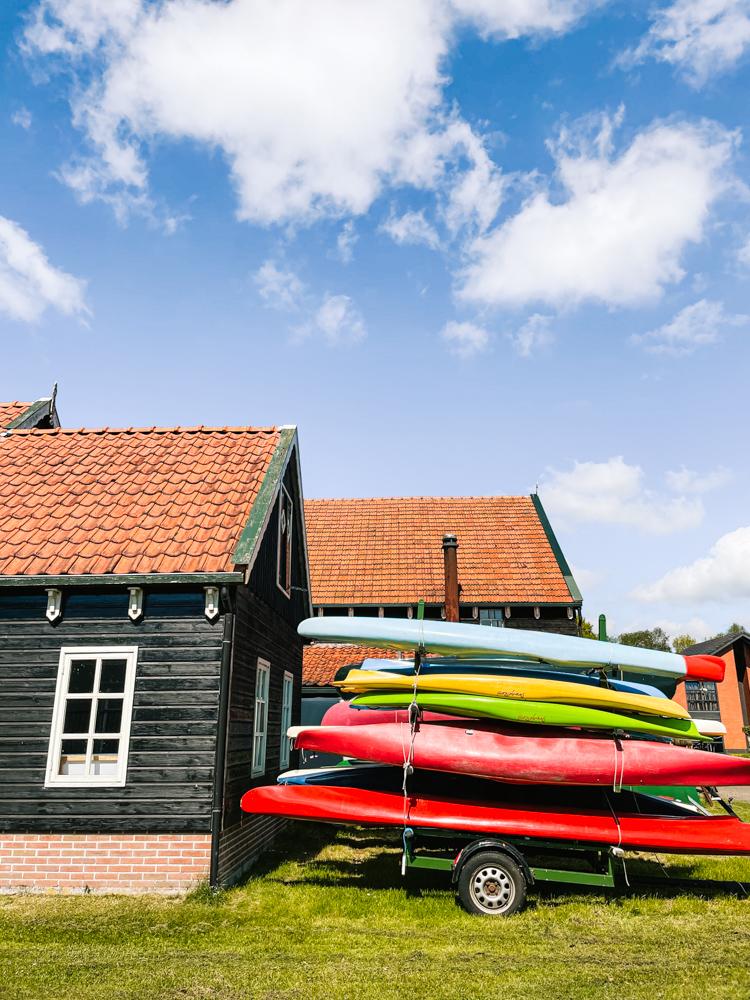 Varen in friesland kanoën