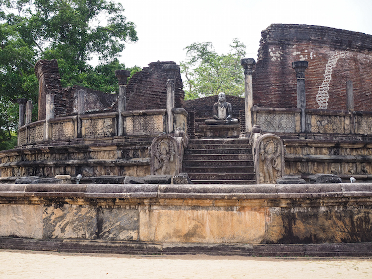 Vatadage Polonnaruwa tempel