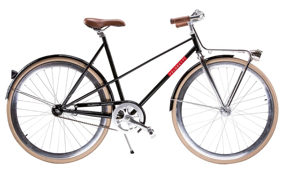 Veloretti hippe fietsen caferacer