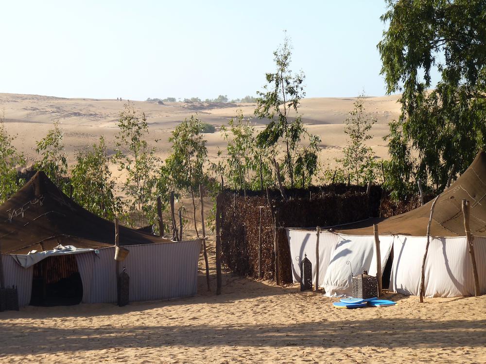 Verblijf in Lompoul, Senegal