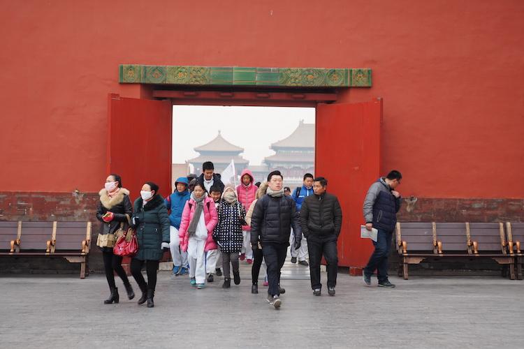 Stedentrip Beijing Verboden stad poort