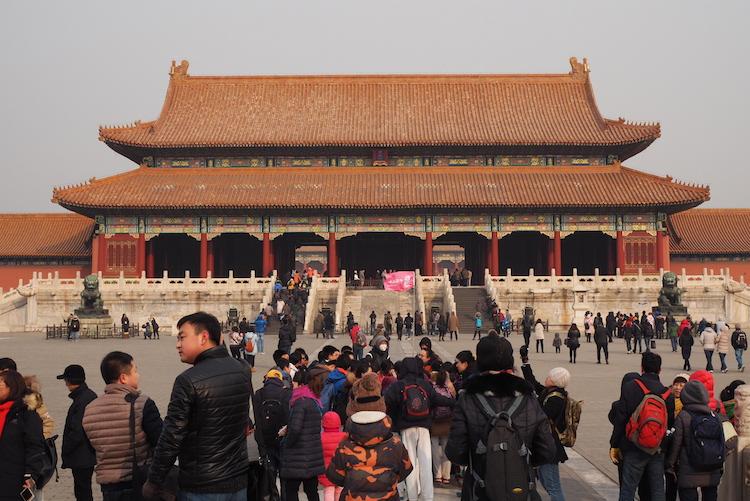 Stedentrip Beijing Verboden stad