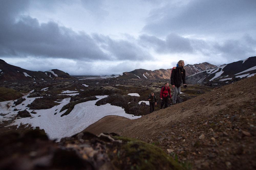 Verborgen waterval IJsland