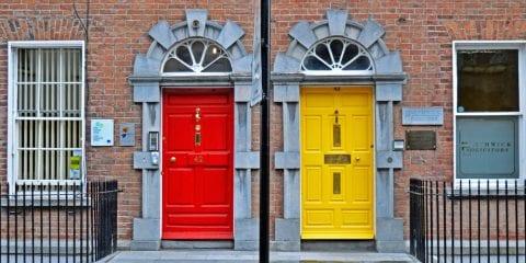 Verdwalen in Kilkenny Ierland