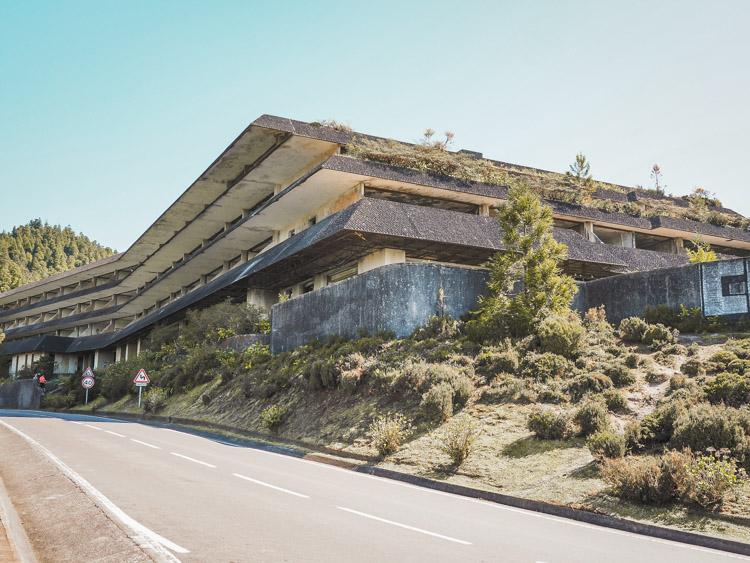 Verlaten hotel sao miguel azoren monte palace