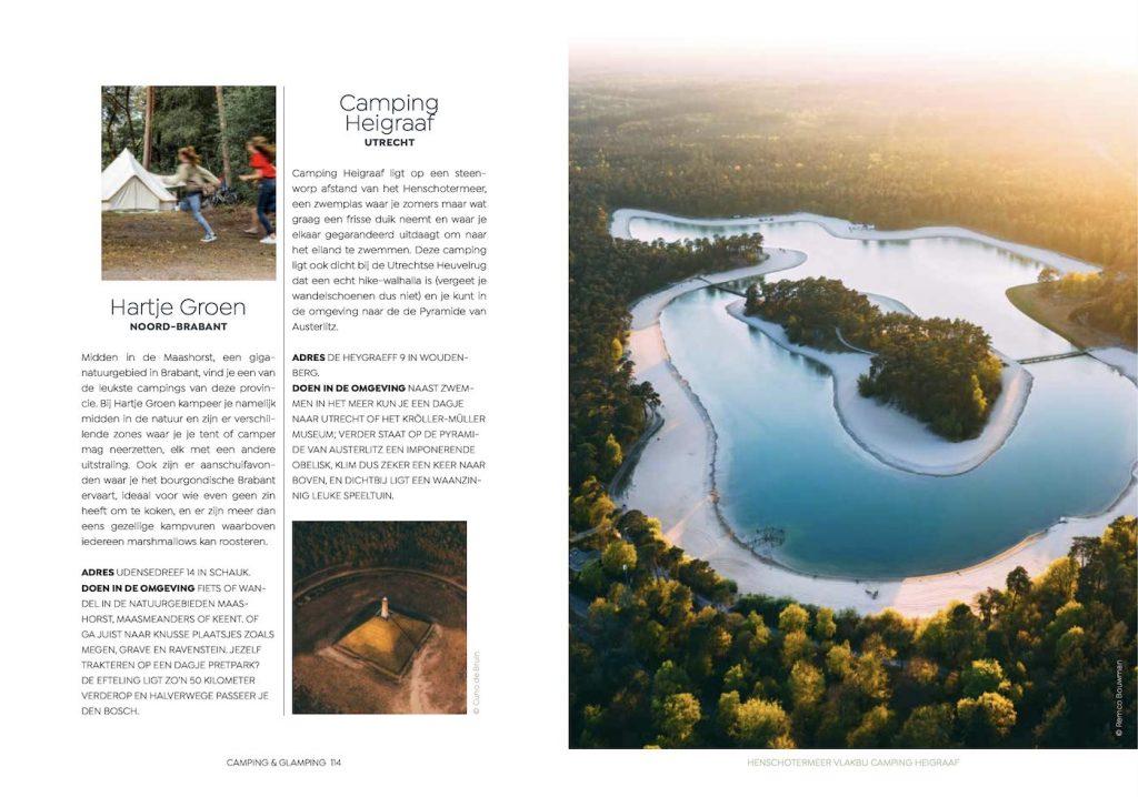 Verliefd op Nederland preview campings hoofdstuk